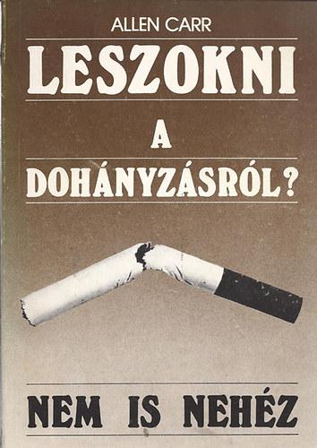 nagyon felépült leszokott a dohányzásról