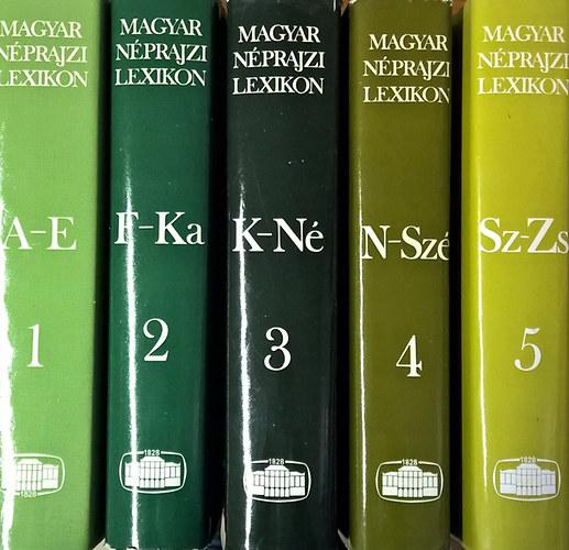 Magyar néprajzi lexikon I V. Ortutay Gyula | Akadémiai Kiadó, 1980