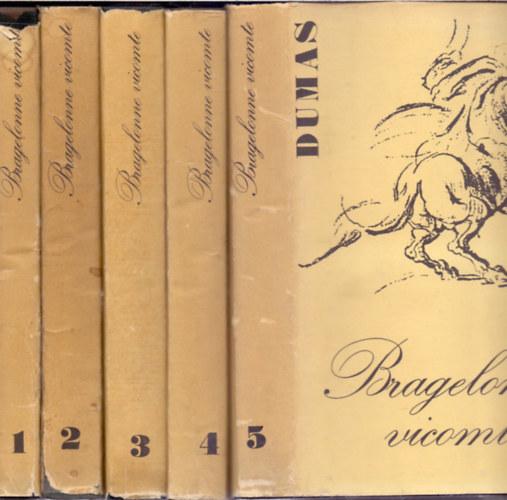 Bragelonne Vicomte vagy tíz évvel később 5. kötet